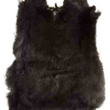 Rabbit Fur - Dark Brown