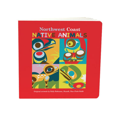 Board Book - Northwest Coast Native Animals