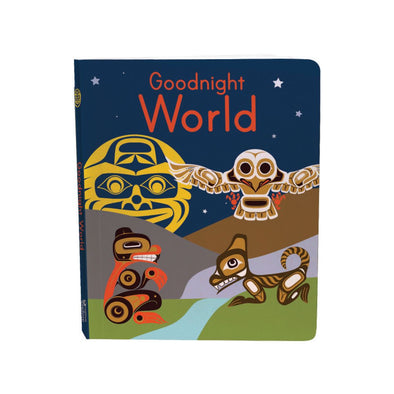 Board Book - Good Night World