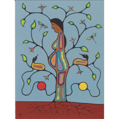Greeting Card - Tree of Life