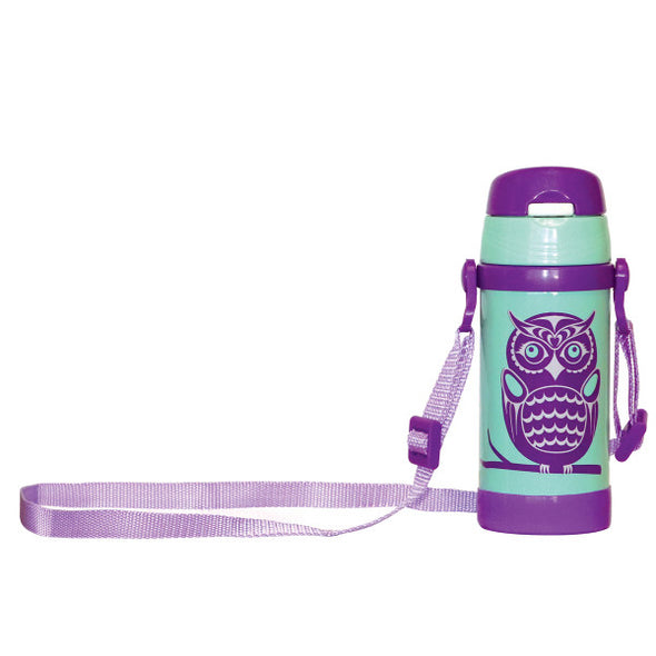 Kids Insulated Bottle - Owl