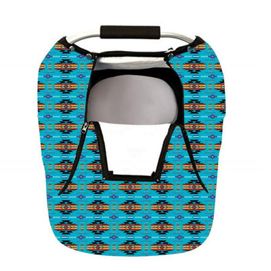 Infant Carrier Cover - Blue