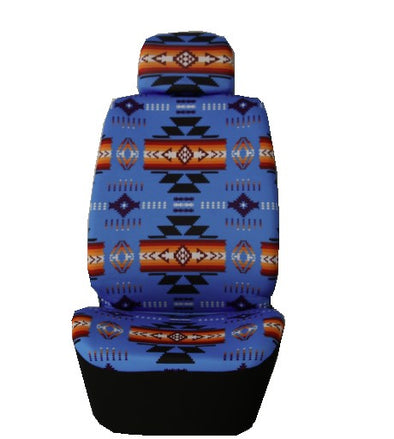 Auto Seat Covers - Blue