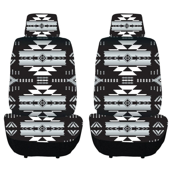 Auto Seat Covers - Black/Grey