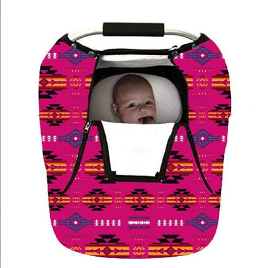 Infant Carrier Cover - Pink