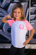 "Girls Team Loco ""Riders United"" Raglan Tee"