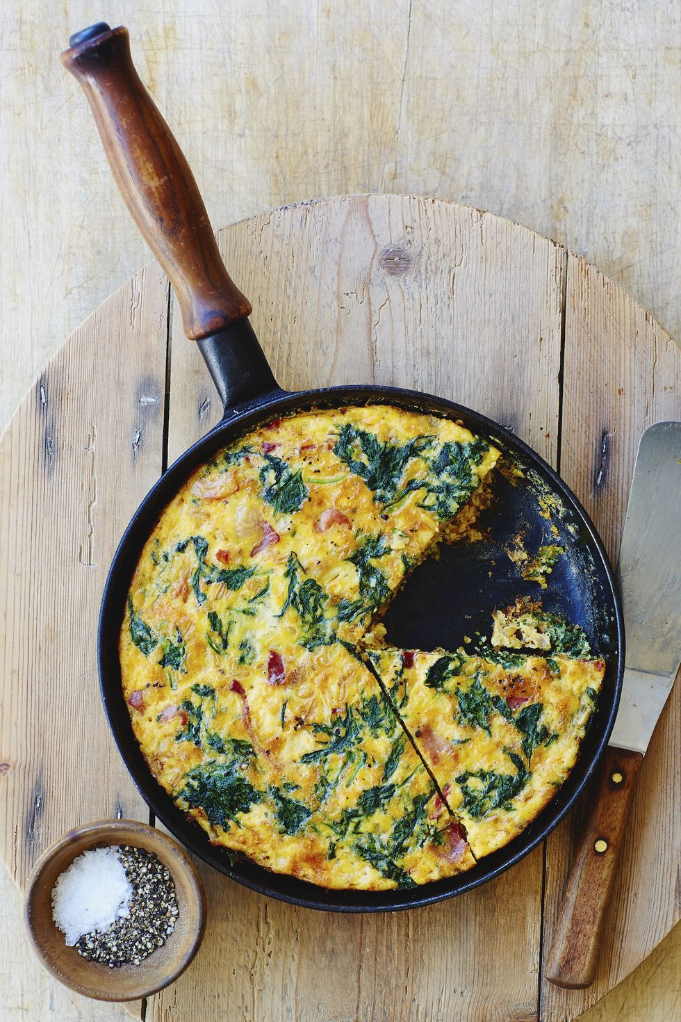 Chive And Goat Cheese Frittata