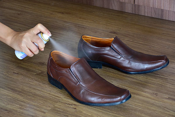 Foot odor spray