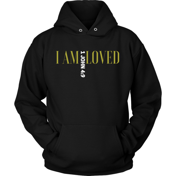 I Am Loved Unisex Hoodie - Evolved By Faith Apparel