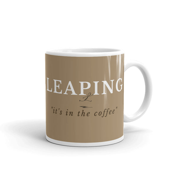 Leaping It's All In The Coffee Mug - Evolved By Faith Apparel