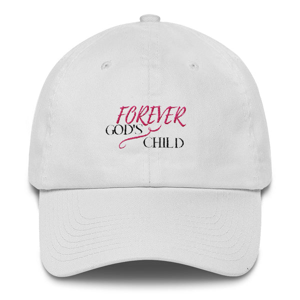 Forever God's Child Cotton Cap - Evolved By Faith Apparel