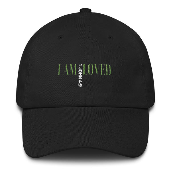 I Am Loved Cotton Cap - Evolved By Faith Apparel