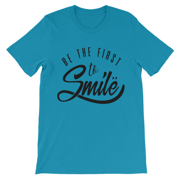 Smile Unisex short sleeve t-shirt