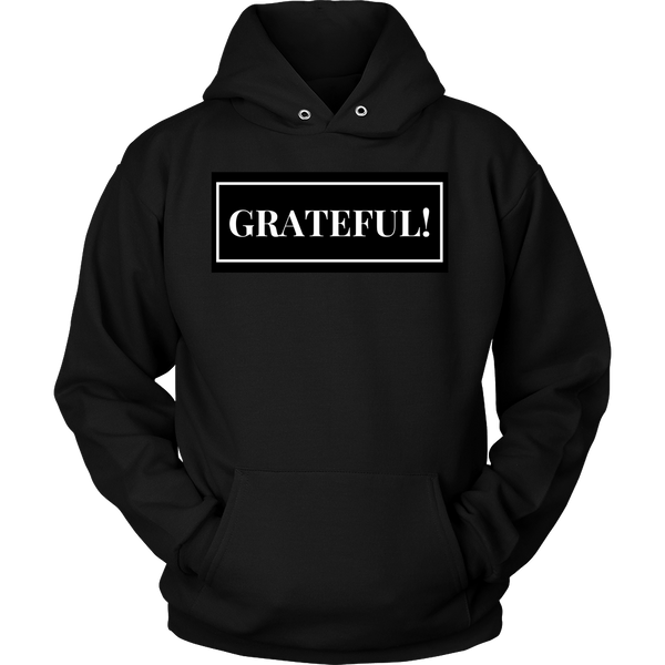 Grateful Unisex Hoodie - Evolved By Faith Apparel