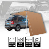 4x4/SUV Retractable Rollout Awning w/ Front Extension