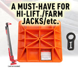 Offroading Gear Base & Handle Bar Protector for Hi-Lift/Farm Jack