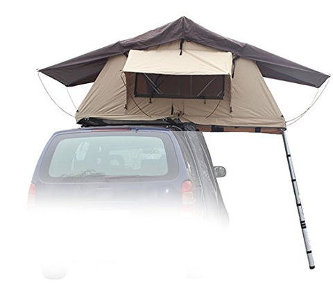 "REFURBISHED - Rooftop Tent, 48"" x 84"" x 50"", Fits 2 People, for Truck/SUV/Car/Etc."