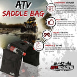 ATV Saddle Bag with With Two Compartments