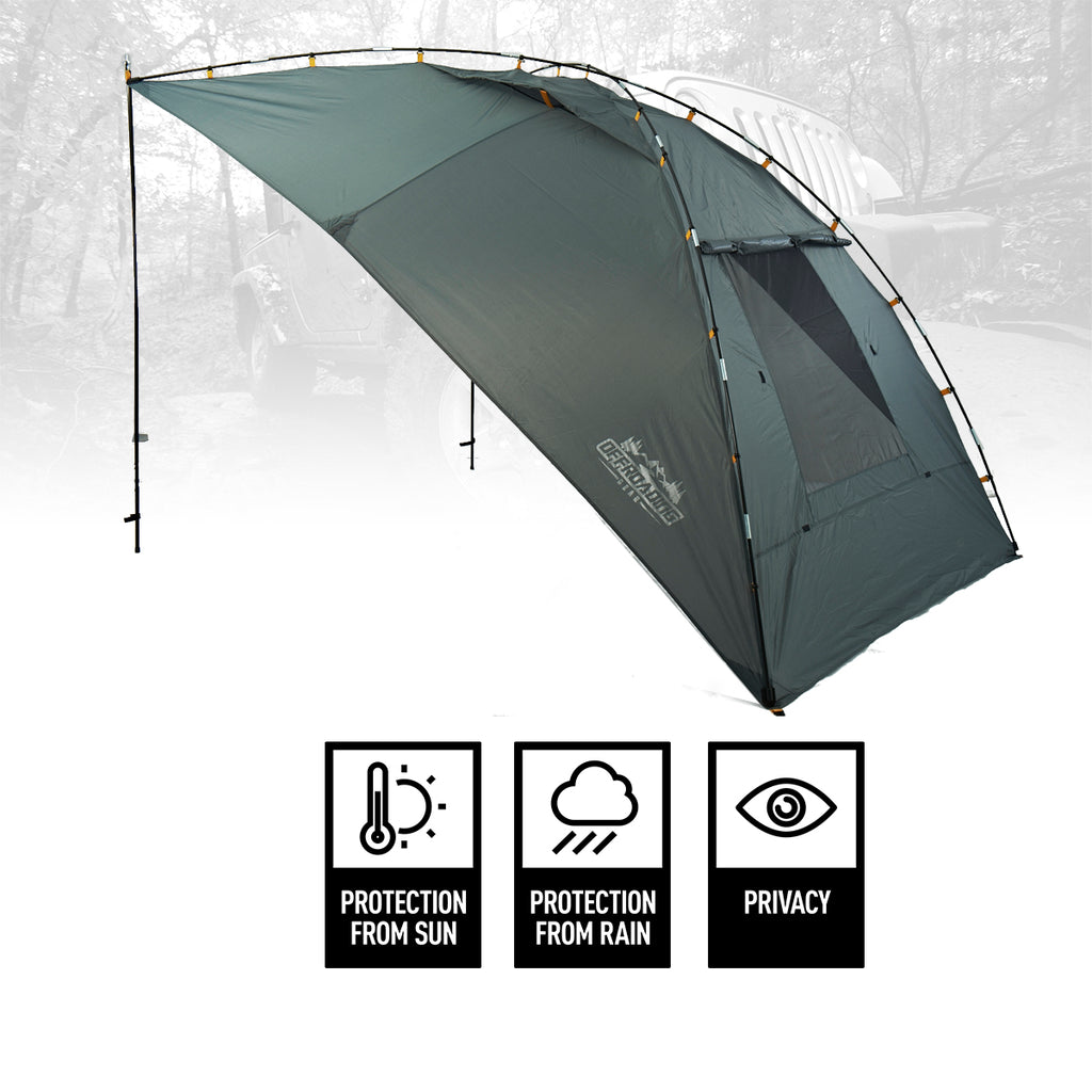 sale retailer ecd34 4d743 Vehicle and Camping Waterproof Portable Awning/Canopy with Extension