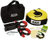 Towing Kit, w/ Hitch Receiver/D-Shackles/Towing Strap/Gloves