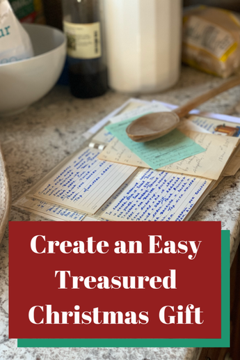 Create an Easy Treasured Christmas Gift