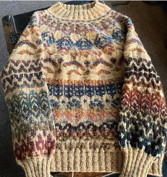Another Sweater Off the Needles!
