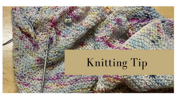 Knitting Tip -- Keeping track of Stitches