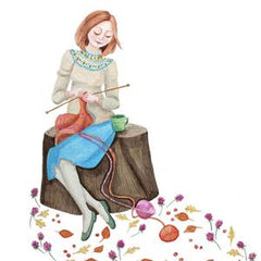 Knitting Illustration