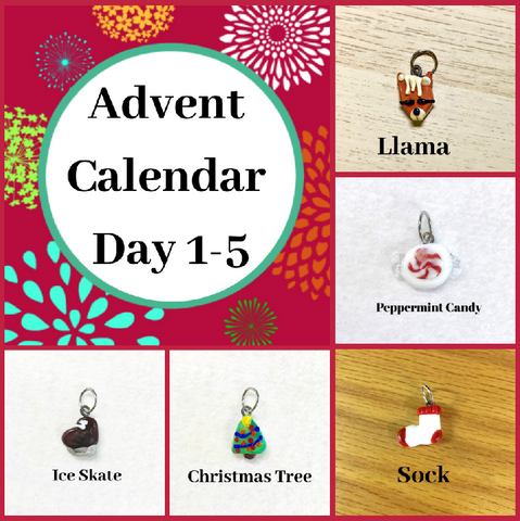 Advent Calendar Stitch Markers