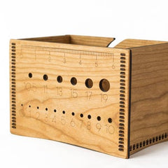 Wooden Needle Box