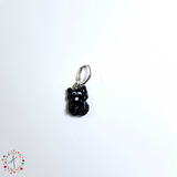 Black Cat   Stitch Marker / Progress Keeper / Earring