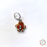 Gingerbread Man Stitch Marker / Progress Keeper / Earring