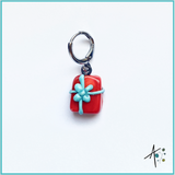 Present Stitch Marker / Progress Keeper / Earring