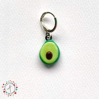 Avocado  Stitch Marker/ Progress Keeper / Earring