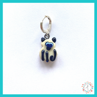 Siamese Cat Stitch Marker / Progress Keeper / Earring