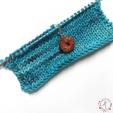 Apple Spice Donut Stitch Marker / Progress Keeper / Earring