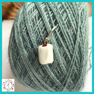 Toilet Paper - Standing Roll  Stitch Marker / Progress Keeper / Earring