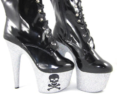 "7"" Shimmy's Dead Sexy Vegan Ankle Boot"