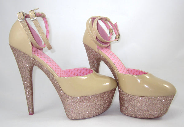 "6"" Pinup Pink Champagne"