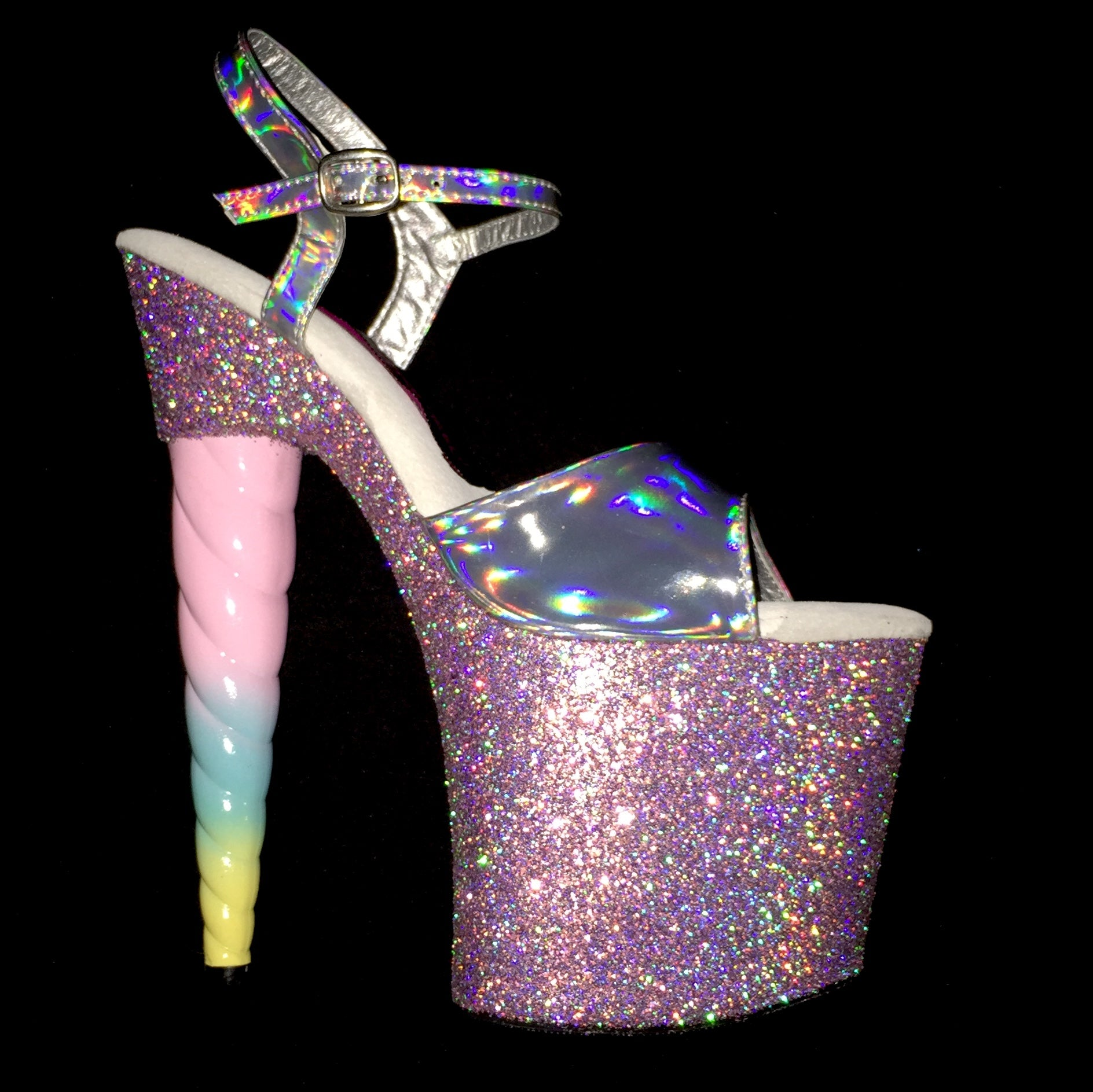 "7.5"" Unicorn Soul Holographic Strap in Twinkle -Limited Edition"