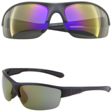 Sport Sunglasses with Mirror Color Lens