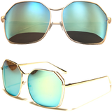 Butterfly sunglasses with Oversized Frames and Color Lens