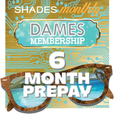 Women's Membership 6 Month Prepay
