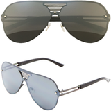 Flat Lens Aviator Sunglasses