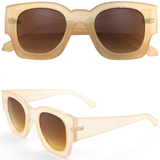 Horned Rim Retro Sunglasses