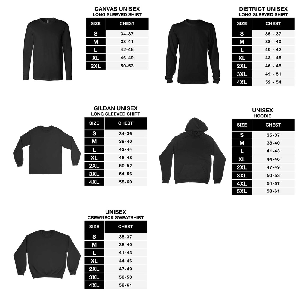 Tops sizing chart #3