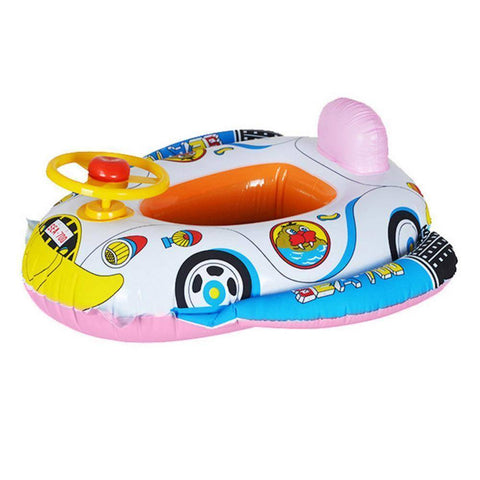 Baby's Race Car Inflatable Pool Float