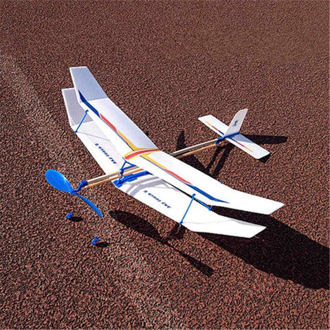 Gifts - Model Elastic Powered Airplane Glider