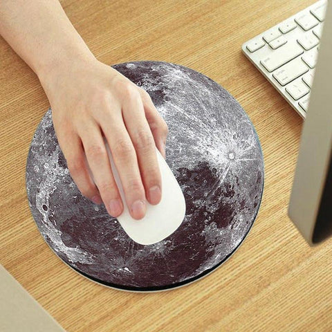Home - Moon Mouse Pad (soft)