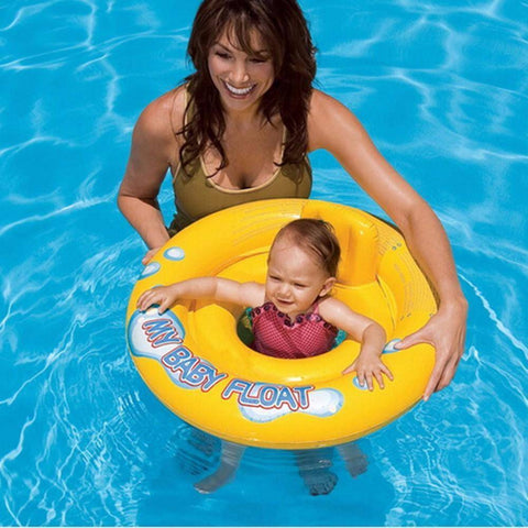 Pool Floats - Baby's Double Ring Inflatable Pool Float